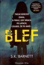 okładka ksiażki Blef