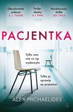 okładka ksiażki Pacjentka